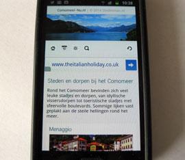 Het Comomeer op je mobiel!