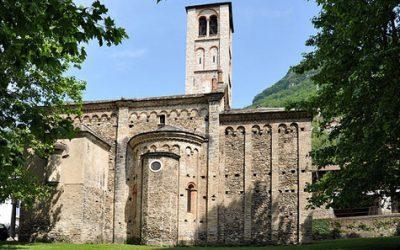Kerk Ss. Gusmeo en Matteo in Gravedona