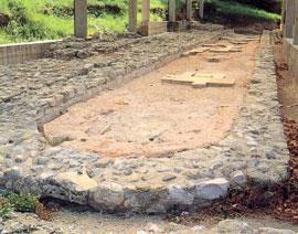 De Romeinse thermen van Como