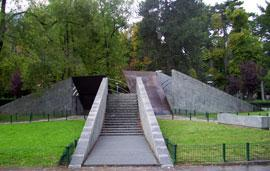 Het monument voor de Europese Verzetsbeweging in Como