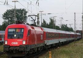 Met de trein naar het Comomeer