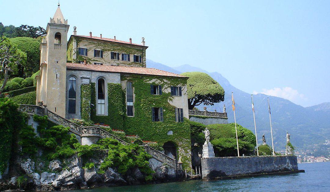 Villa del Balbianello, schitterend uitzicht op het Comomeer