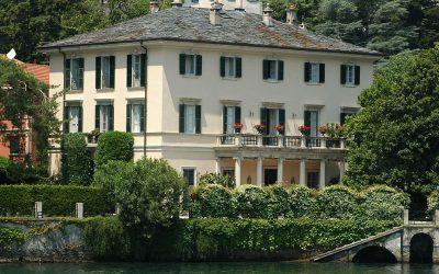 Clooney's villa aan het Comomeer